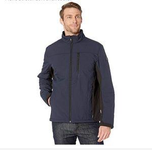 - New with tags Tumi Navy soft shell jacket …